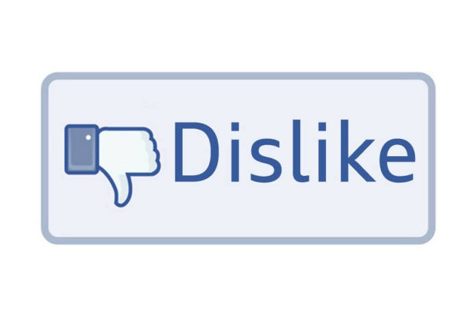 "Facebook to Introduce a ""Dislike"" Button"