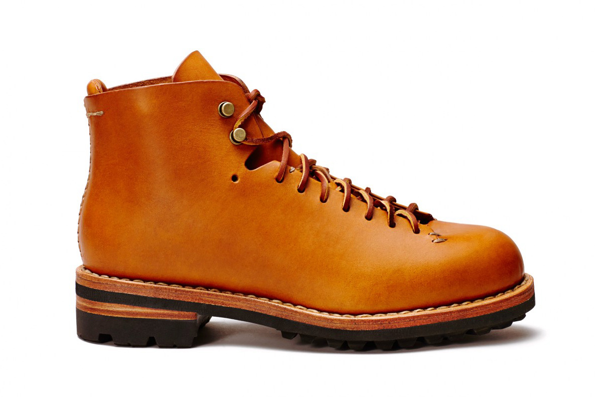 "FEIT Hand Sewn Hiker Boots in ""Cuoio"" and ""Black"""