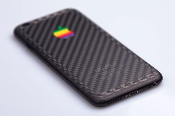 "Feld & Volk Custom ""Double Carbon"" iPhone 6"