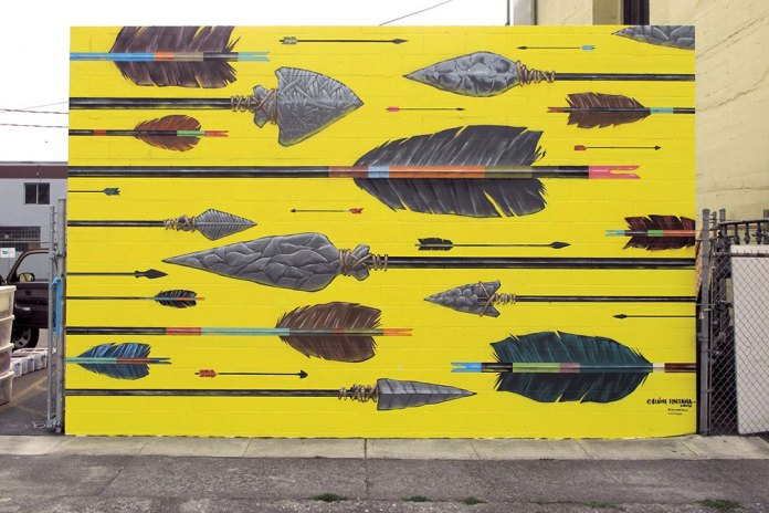 Check out the Murals at Portland's 'Forest for the Trees'