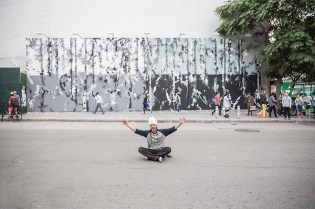 Futura Paints New York's Iconic Houston & Bowery Wall