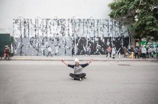 Futura Paints New York's Iconic Houston & Bowery Wall