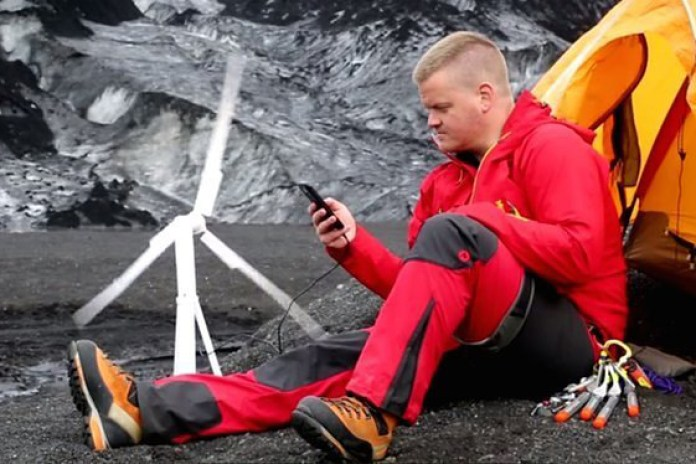 Generate Electricity Anywhere With the Trinity Portable Wind Turbine