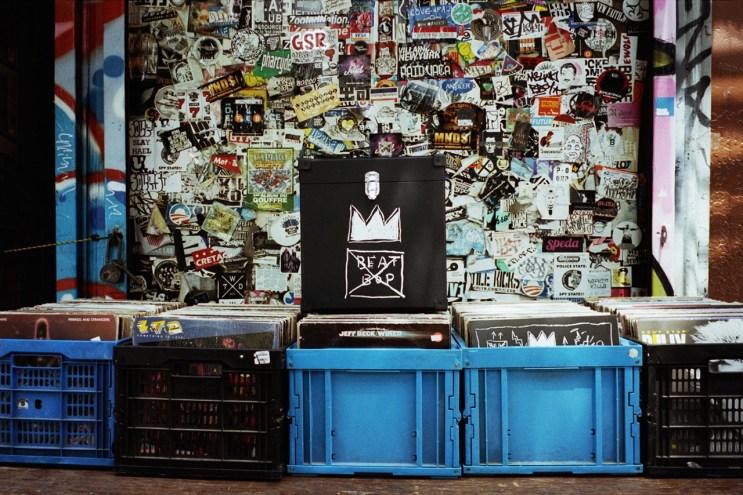Get On Down Jean-Michel Basquiat Beat Bop Record Box