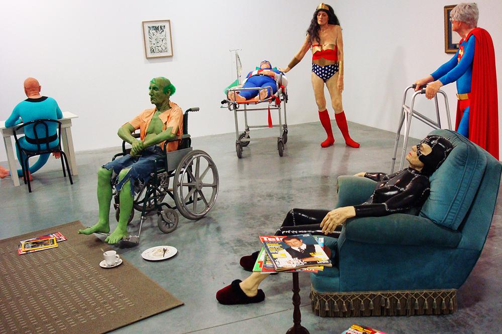 The Life-Like Absurdist Sculptures of Gilles Barbier