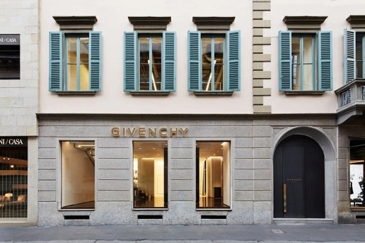 Givenchy Opens Its Milan Flagship Store