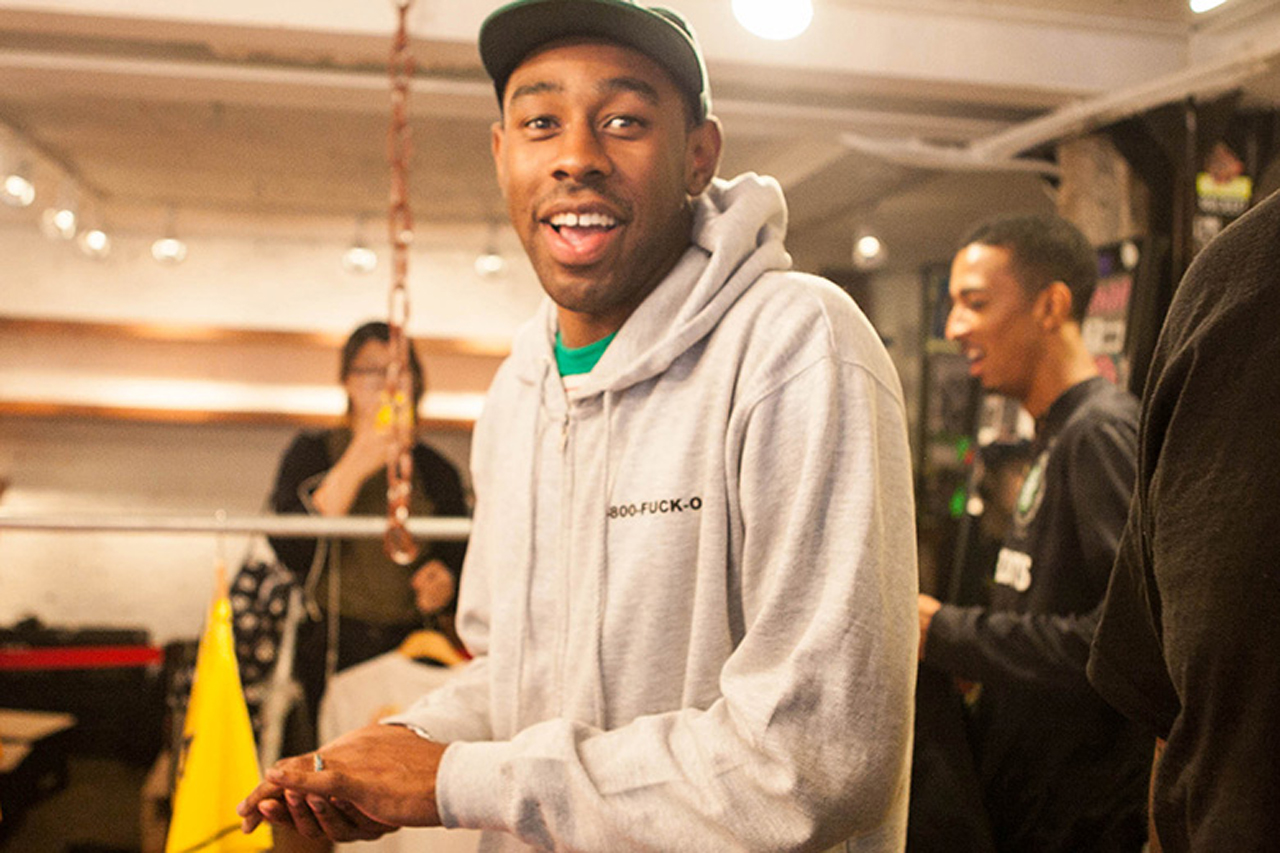 """Golf Wang """"Cherry Bomb"""" Pop-Up Store in Seoul"""