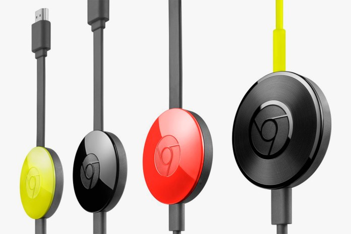 Google Unveils the Chromecast 2 & Chromecast Audio