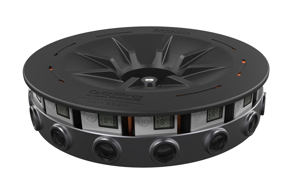 GoPro Launches Its 16-Camera $15,000 USD Odyssey Rig for Google Jump VR