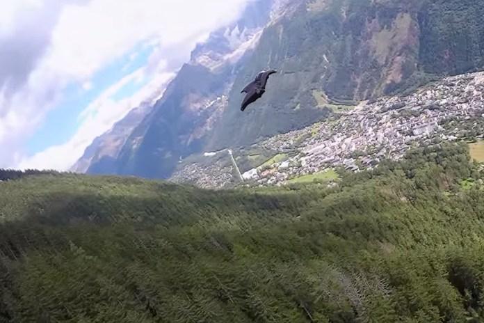 Graham Dickinson Takes Full Advantage of His Wingsuit in This Daring Flight Video
