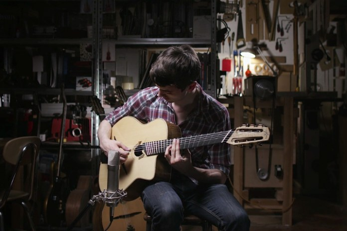 Watch This Soothing Short on the Meditative Craft of Guitar-Making