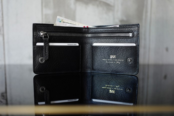 hard graft Atelier Zip Wallet