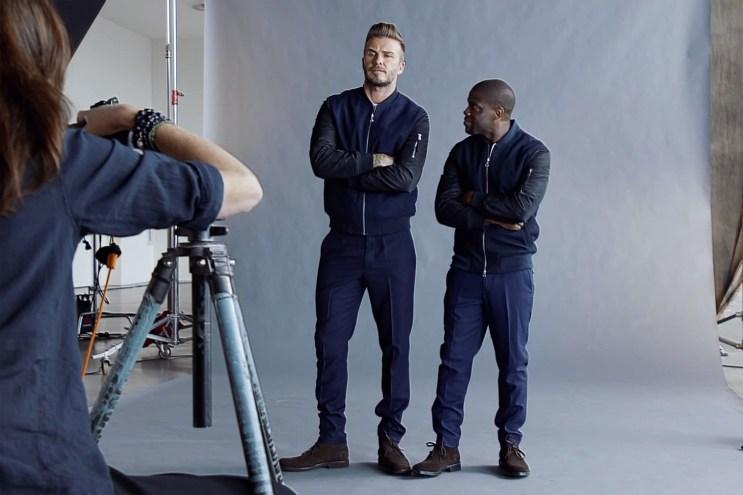 H&M Modern Essentials Starring David Beckham & Kevin Hart