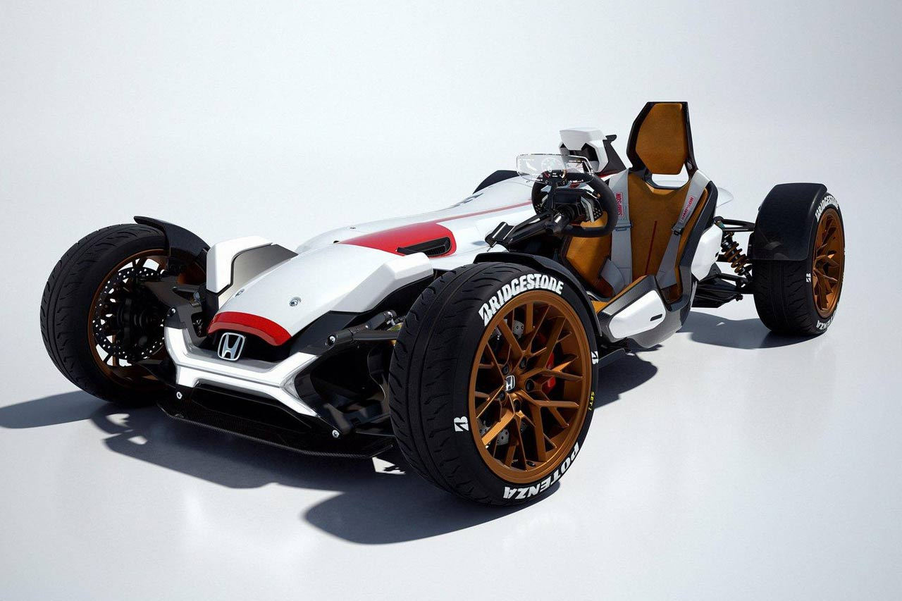 Check out the Winning Race Car/Motorbike Design of the Honda Global Design Project