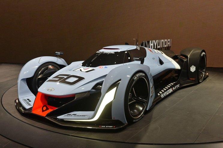 A First Look at the Hyundai N 2025 Vision Gran Turismo Concept