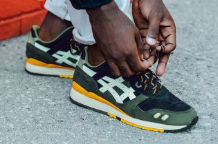 J. Crew Takes on the ASICS GEL-Lyte III