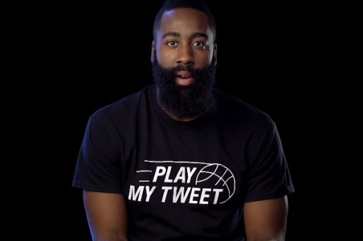"Control James Harden With Foot Locker's ""Play My Tweet"" Campaign"