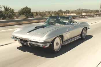 Jay Leno Takes Joe Rogan's 1965 Chevrolet Corvette Stingray Restomod for a Spin