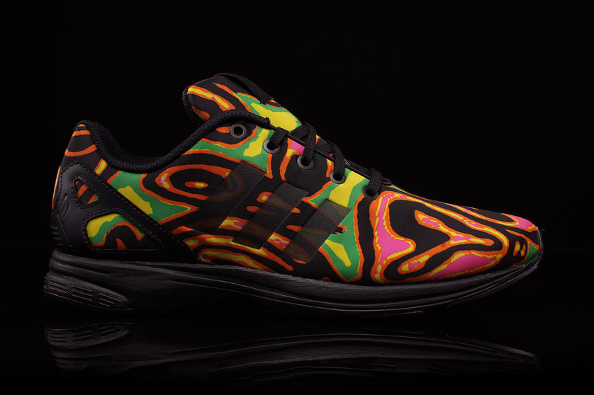 Jeremy Scott x adidas ZX Flux Tech
