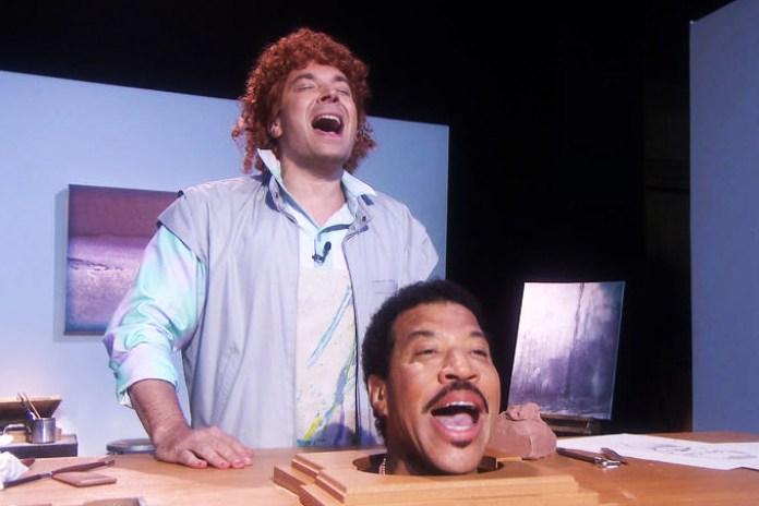 Jimmy Fallon and Lionel Richie Reinterpret the Classic 'Hello' Video