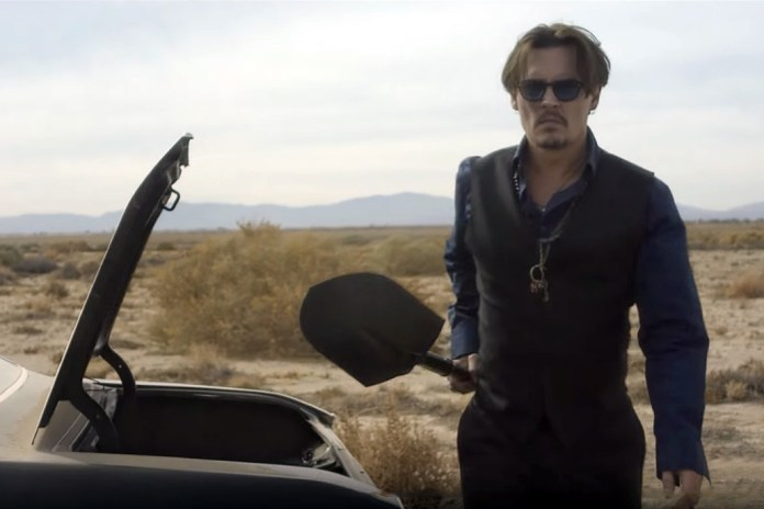 "Johnny Depp Stars in This Atmospheric Ad for Dior's ""Sauvage"" Fragrance"