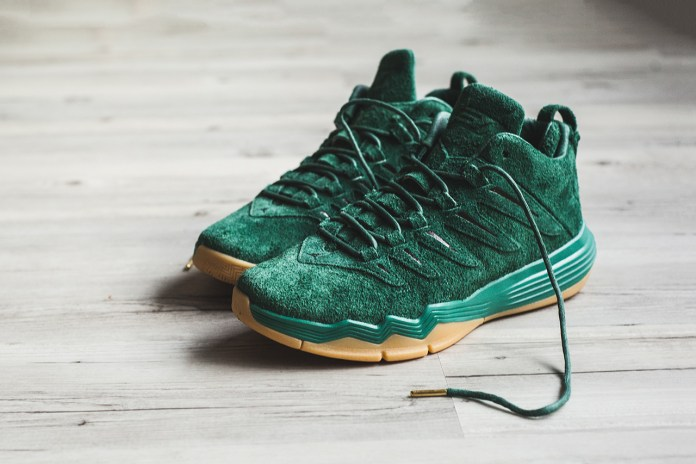 """Jordan CP9 """"Friends & Family"""" Gorge Green Dirty Suede"""