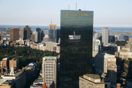 JR's Tallest Work to Date on Boston's John Hancock Tower