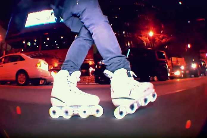 Pro Skater Julian Bah Lights up Atlanta With Glow-in-the-Dark Rollerblades