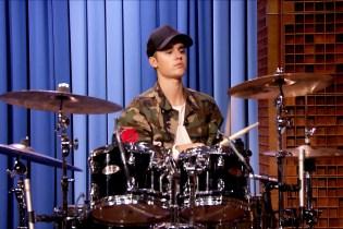 Watch Justin Bieber Beat Questlove in a Drum-Off