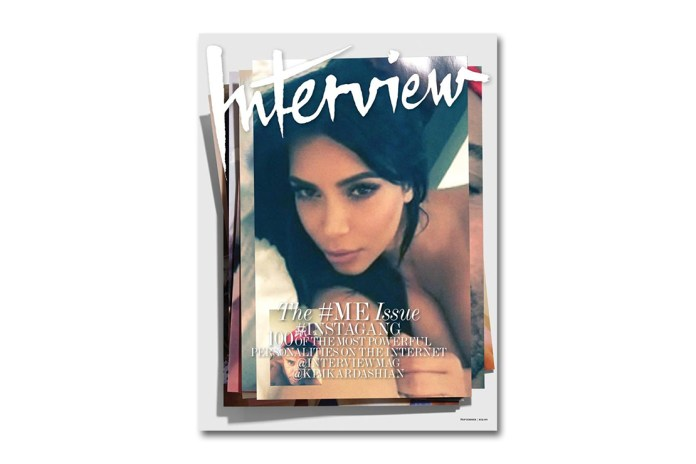 """A Topless Kim Kardashian Highlights the """"#ME"""" Issue of 'Interview'"""