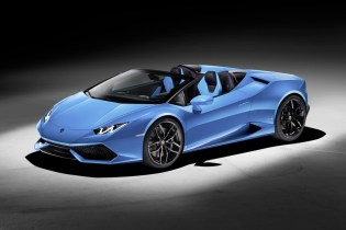 The Lamborghini Huracán LP 610-4 Spyder Says Goodbye to the Roof