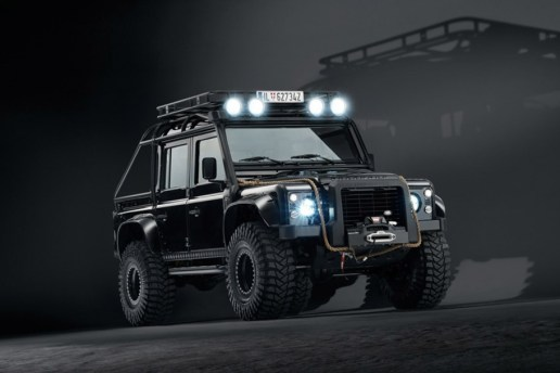 Check Out the Heavily Modified Land Rover Defender and Range Rover Sport From 'Spectre'