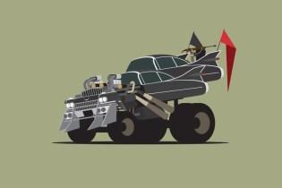 'Mad Max: Fury Road' Gets Artistic Twist from Artist Scott Park