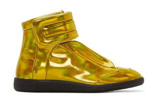"Maison Margiela Future High Top ""Gold Iridescent"""