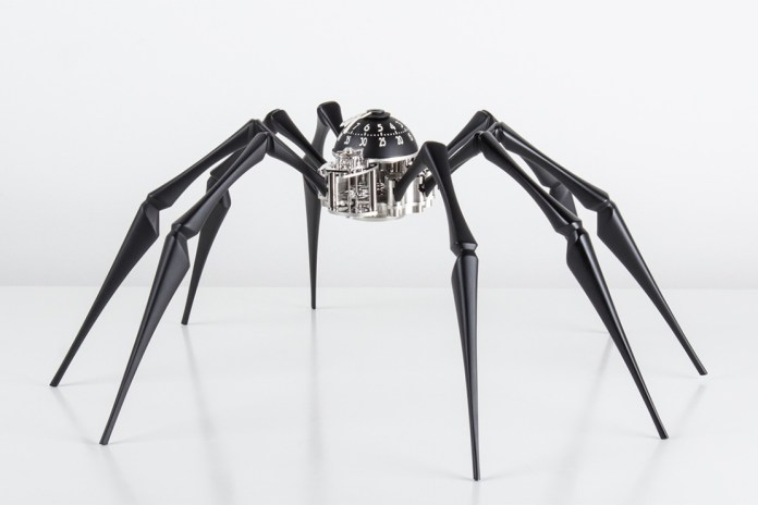 MB&F Introduces the Arachnophobia Clock