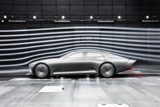 The Mercedes-Benz Concept IAA Transforms Its Shape in the Name of Aerodynamics