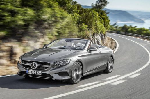 Mercedes-Benz Unveils the S-Class Cabrio