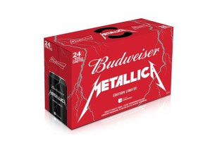 Metallica x Budweiser Limited Edition Cans