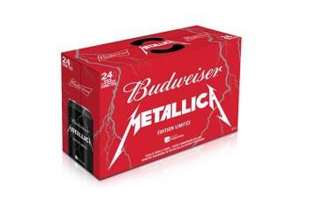 Metallica x Budweiser Limited Edition Cans