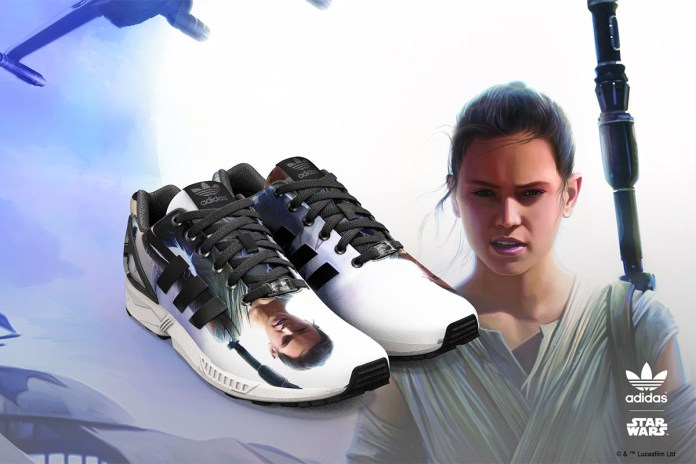 Add 'Star Wars: The Force Awakens' Graphics to Your adidas ZX Flux
