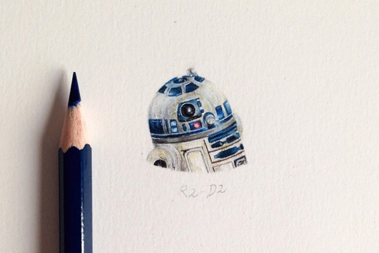 Micro Star Wars Illustrations