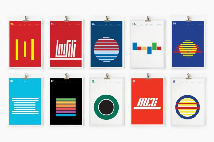 World Famous Logos Recreated With a Minimalistic Look