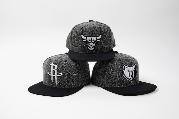 "Mitchell & Ness ""Static"" and ""Boot Hook"" NBA Snapback Caps"
