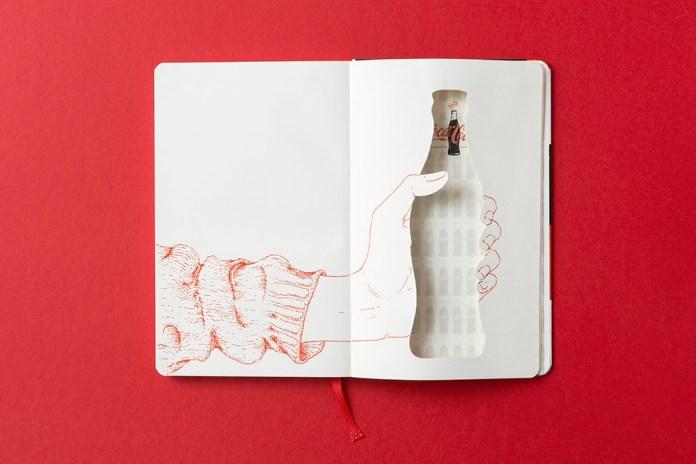 Moleskine Celebrates 100 Years of Coca-Cola's Glass Bottle
