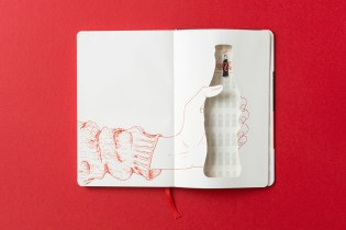 Moleskine Celebrates 100 Years of Coca-Cola's Glass Bottle