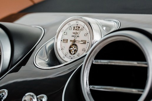 Add a Mulliner Tourbillon Mechanical Clock to Your Bentley for Just $234,360 USD