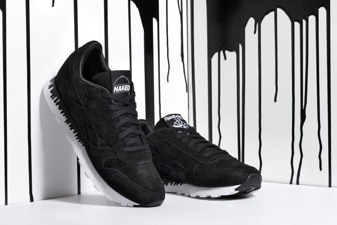 "NAKED x Reebok Classic Leather ""Drip"""