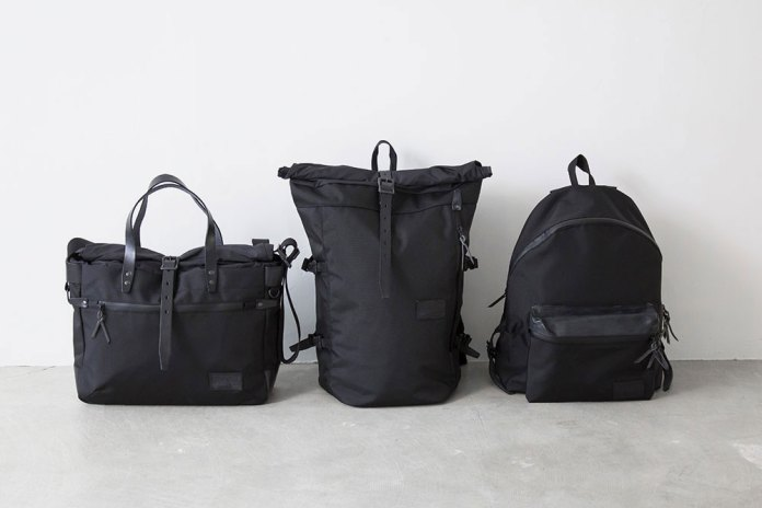 "nanamica 2015 Fall ""Triple Black"" Bag Collection"