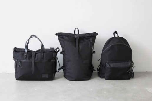 "nanamica 2015 Fall ""Triple Black"" Bag Collection"