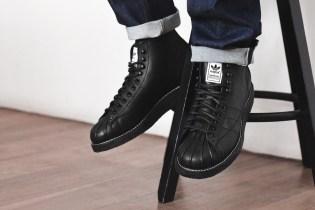 NEIGHBORHOOD x adidas Originals Shell-Toe Boots